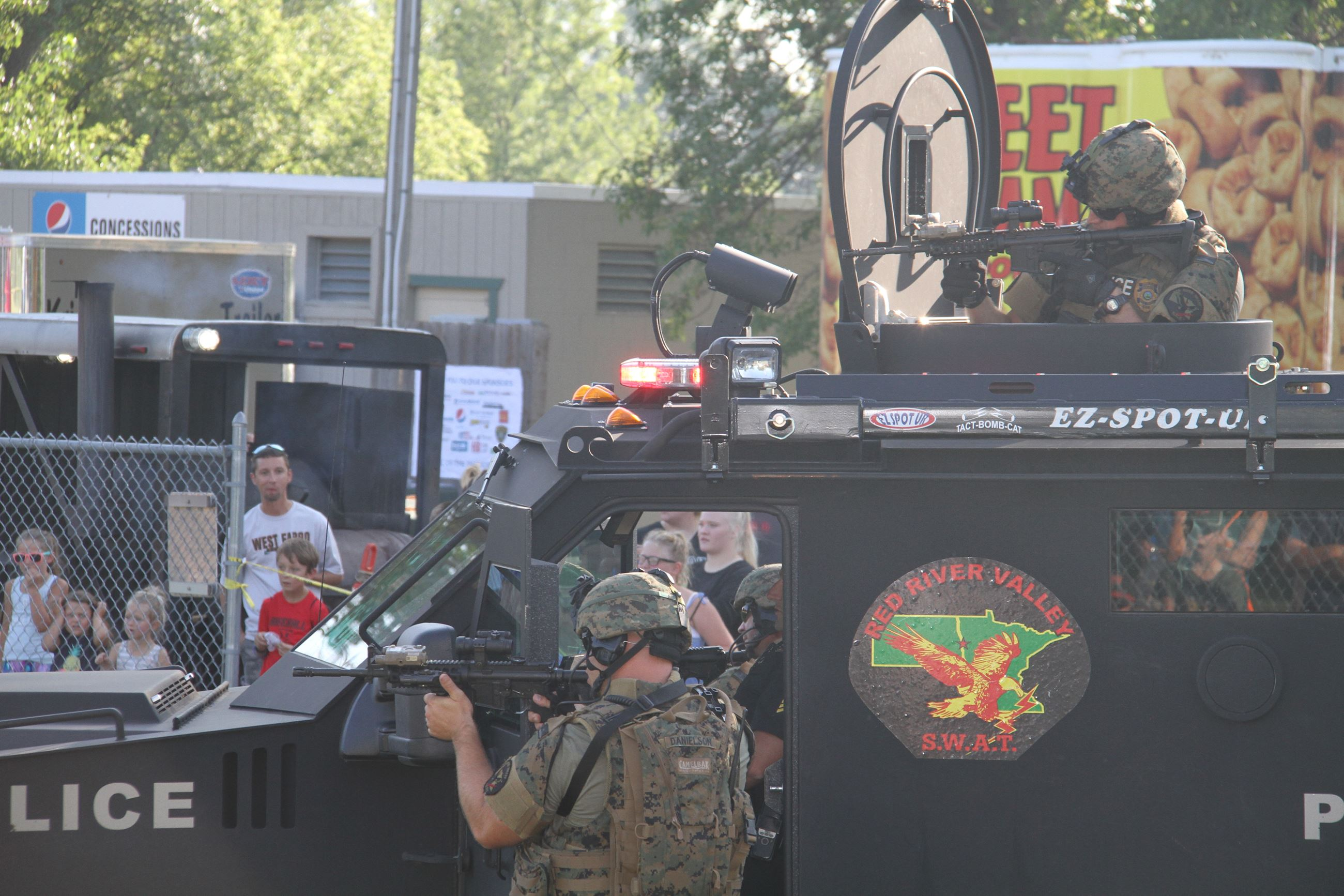Red River Valley SWAT Team demonstration