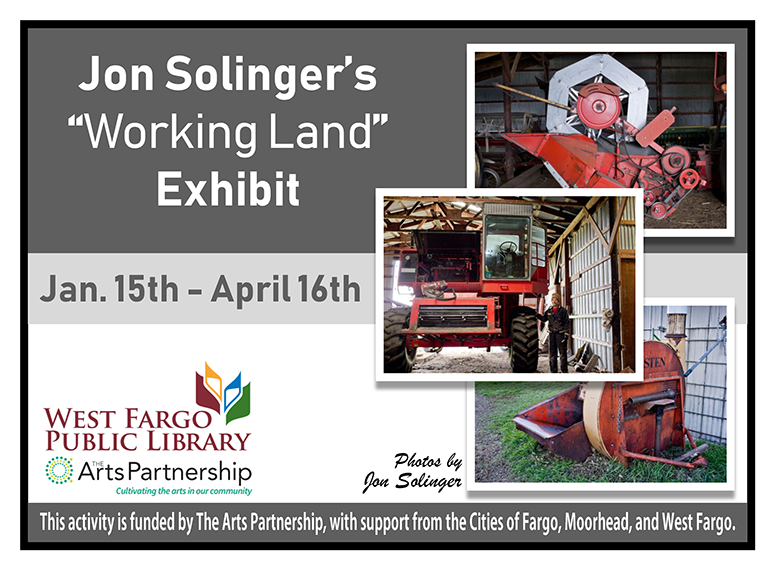 Jon Solinger&#39s Working Land Exhibit