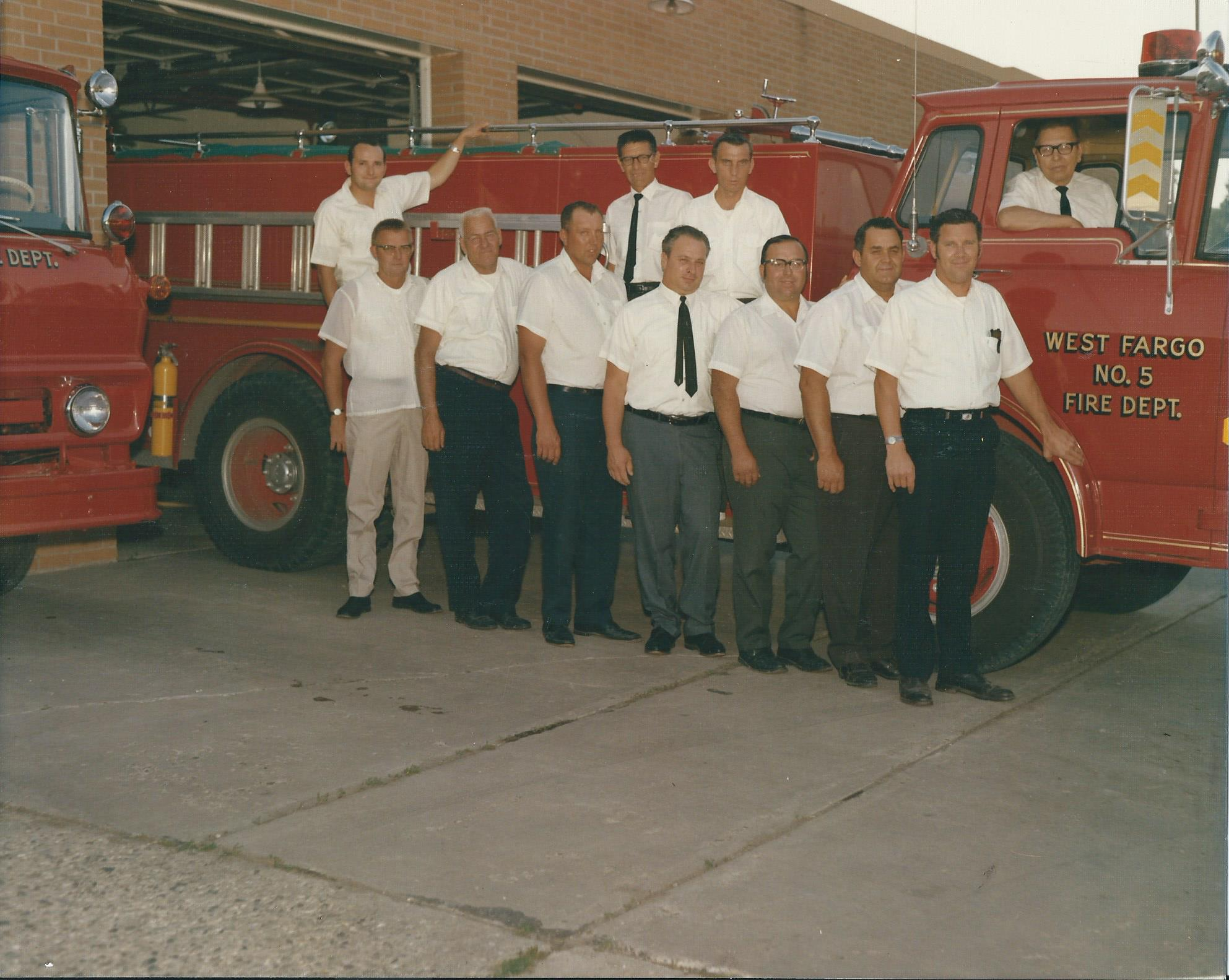 West Fargo Fire Dept, 1970's