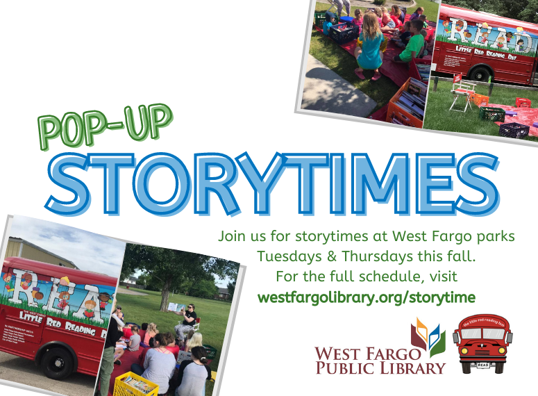 Pop-Up Storytime Promotional image