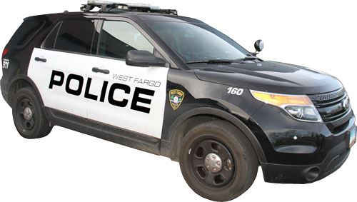 West Fargo Police Department Squad Car